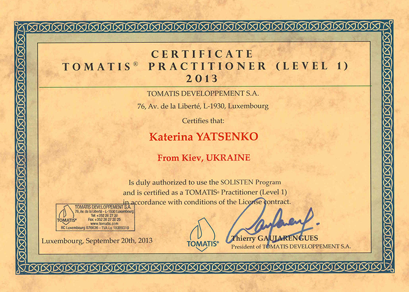 The Tomatis method for children