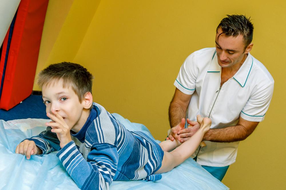 Therapeutic massage for children